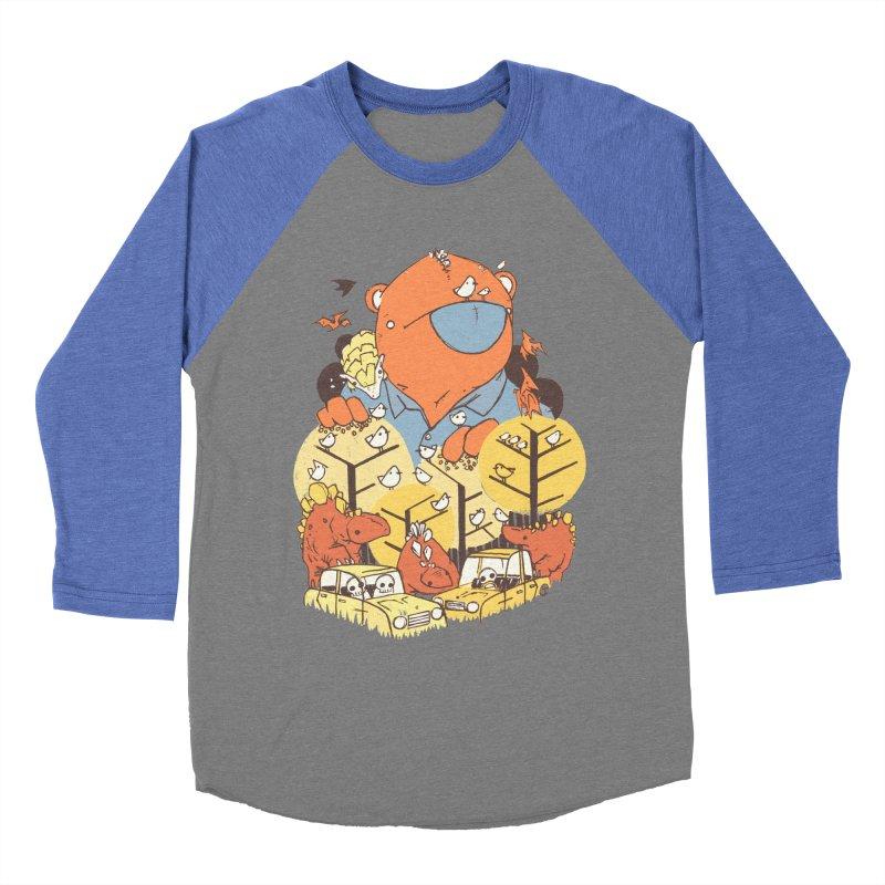 After People Women's Baseball Triblend T-Shirt by Chris Williams' Artist Shop