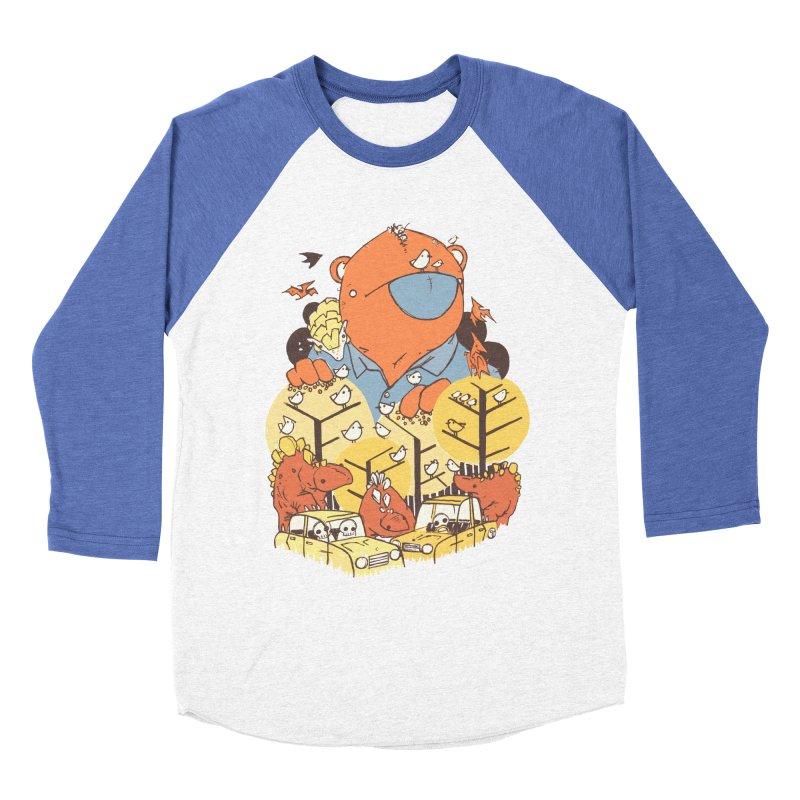 After People Men's Baseball Triblend T-Shirt by Chris Williams' Artist Shop
