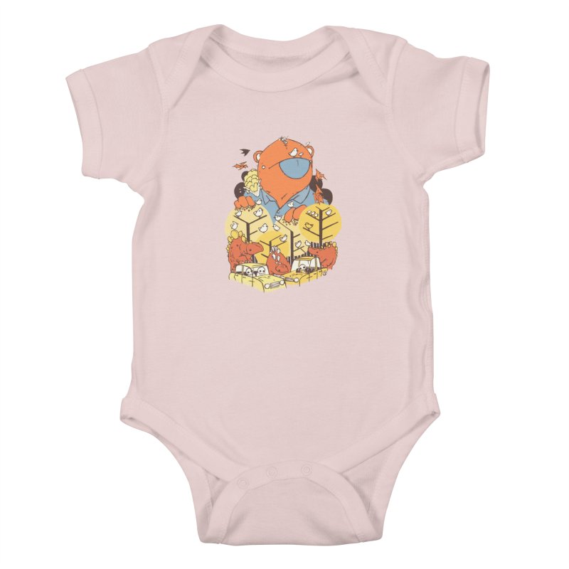 After People Kids Baby Bodysuit by Chris Williams' Artist Shop