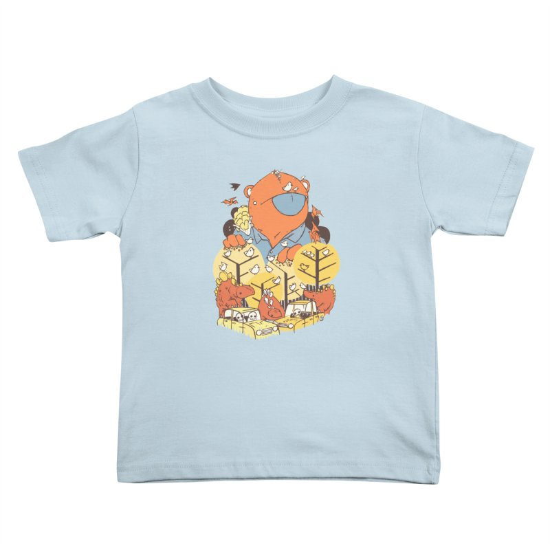 After People Kids Toddler T-Shirt by Chris Williams' Artist Shop