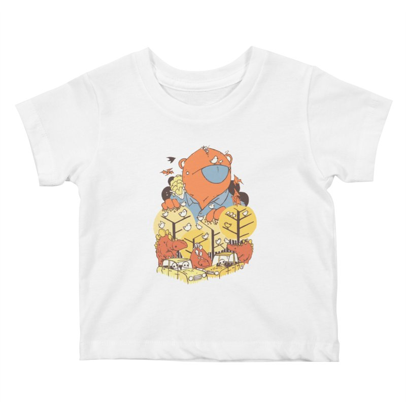 After People Kids Baby T-Shirt by Chris Williams' Artist Shop