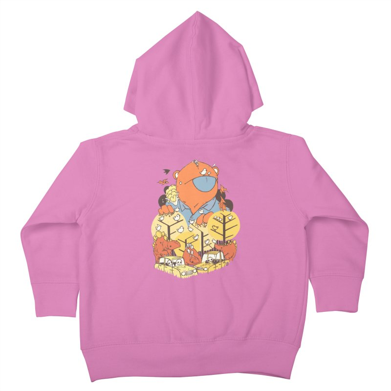 After People Kids Toddler Zip-Up Hoody by Chris Williams' Artist Shop