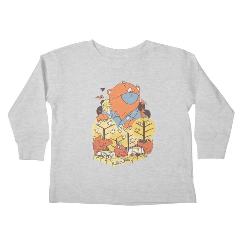 After People Kids Toddler Longsleeve T-Shirt by Chris Williams' Artist Shop