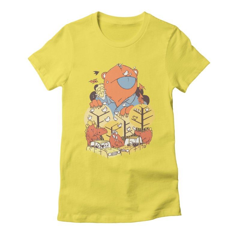 After People Women's T-Shirt by Chris Williams' Artist Shop