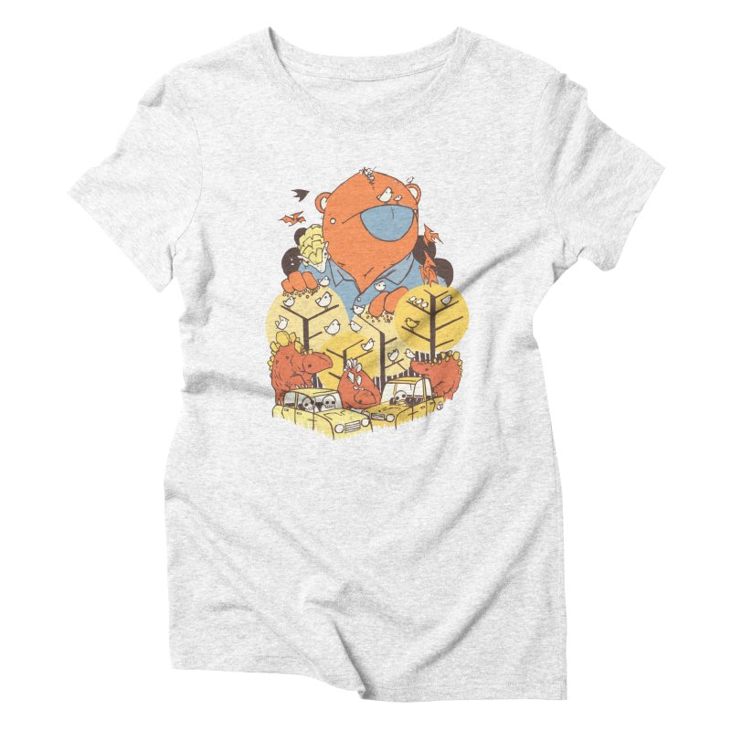 After People Women's Triblend T-shirt by Chris Williams' Artist Shop