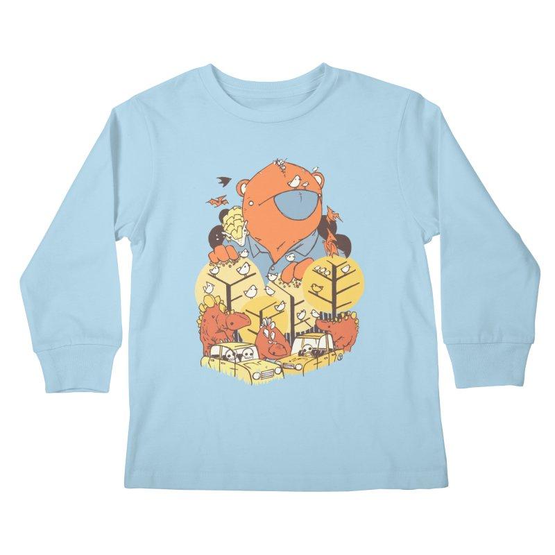 After People Kids Longsleeve T-Shirt by Chris Williams' Artist Shop