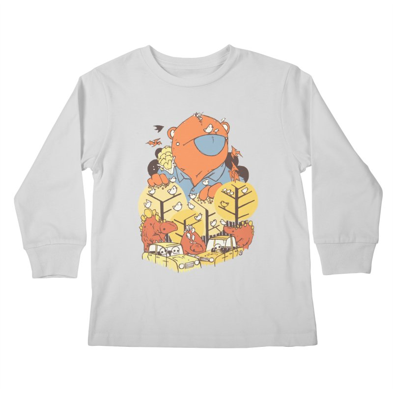 After People Kids Longsleeve T-Shirt by Chris Williams' Artist Shop