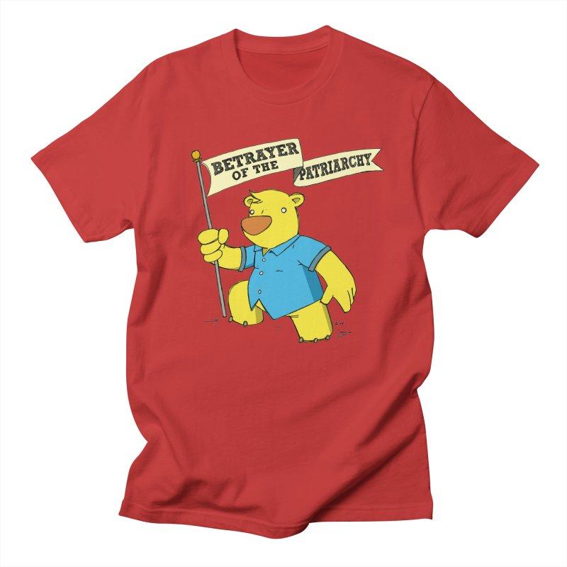Betrayer of the Patriarchy! Men's Regular T-Shirt by Chris Williams' Artist Shop