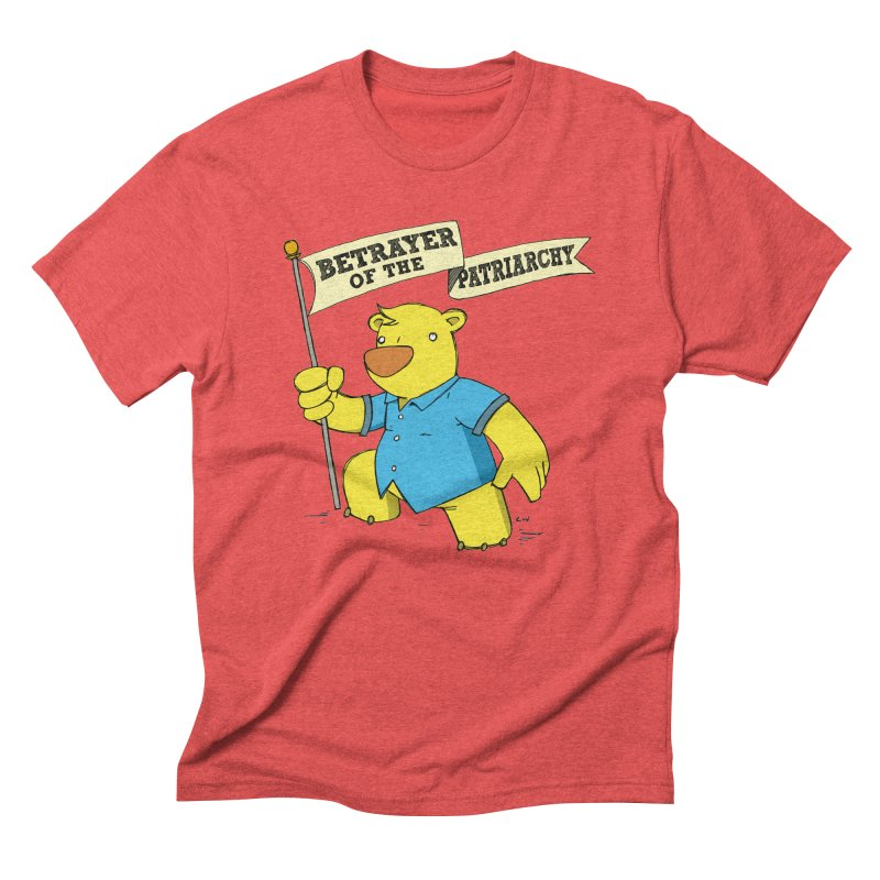 Betrayer of the Patriarchy! Men's Triblend T-Shirt by Chris Williams' Artist Shop