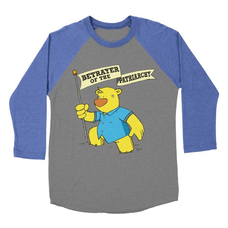 Betrayer of the Patriarchy! Women's Baseball Triblend T-Shirt by Chris Williams' Artist Shop