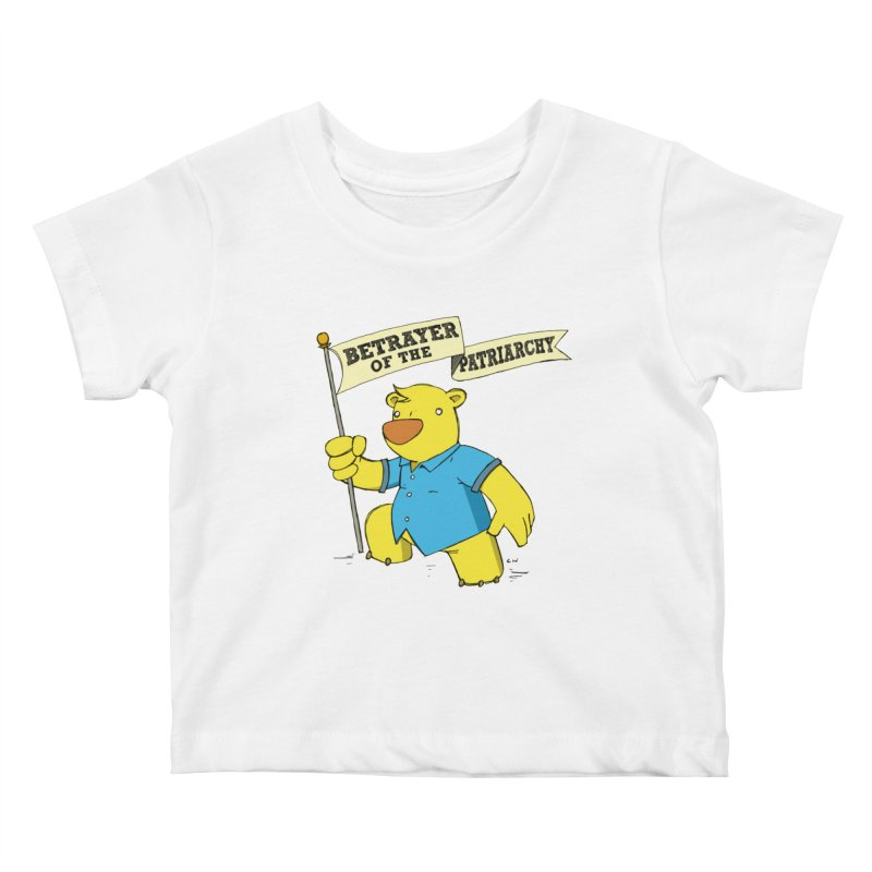 Betrayer of the Patriarchy! Kids Baby T-Shirt by Chris Williams' Artist Shop