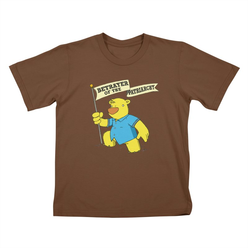 Betrayer of the Patriarchy! Kids T-Shirt by Chris Williams' Artist Shop