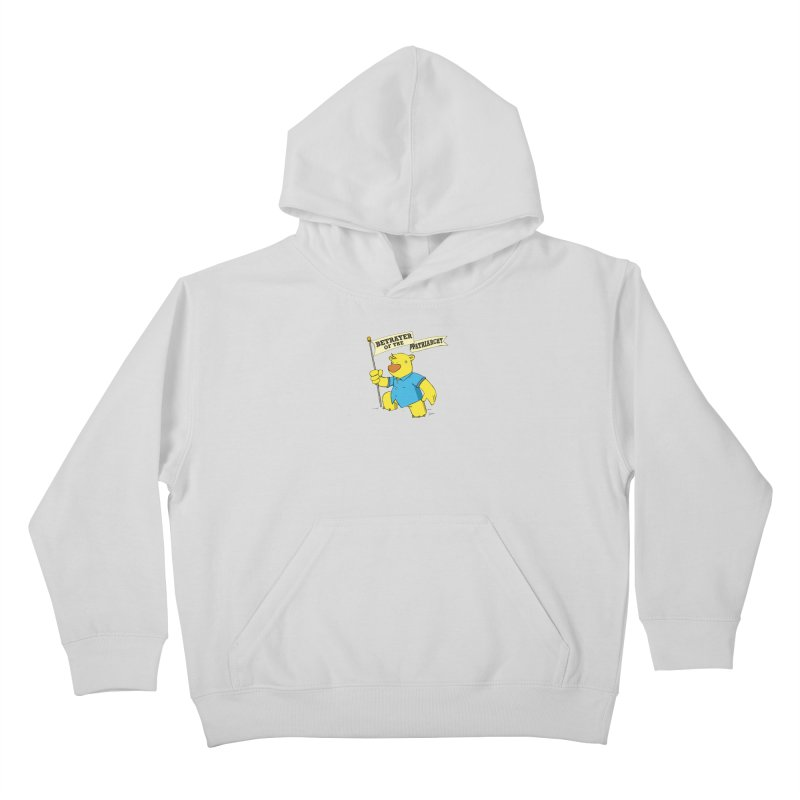 Betrayer of the Patriarchy! Kids Pullover Hoody by Chris Williams' Artist Shop