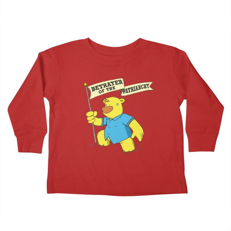 Betrayer of the Patriarchy! Kids Toddler Longsleeve T-Shirt by Chris Williams' Artist Shop