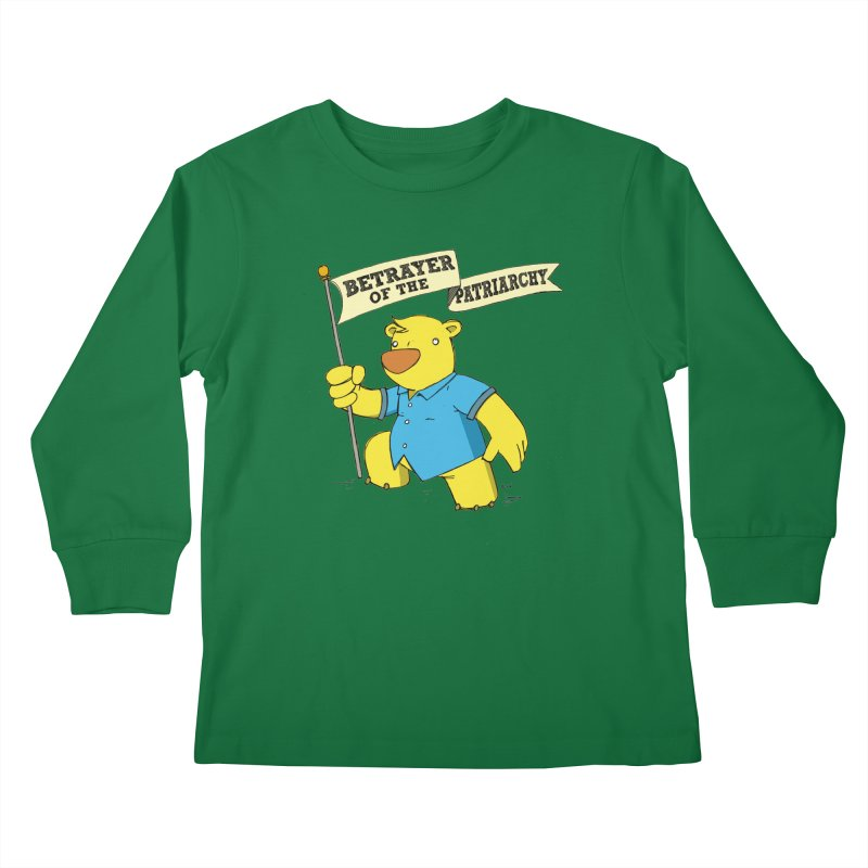 Betrayer of the Patriarchy! Kids Longsleeve T-Shirt by Chris Williams' Artist Shop