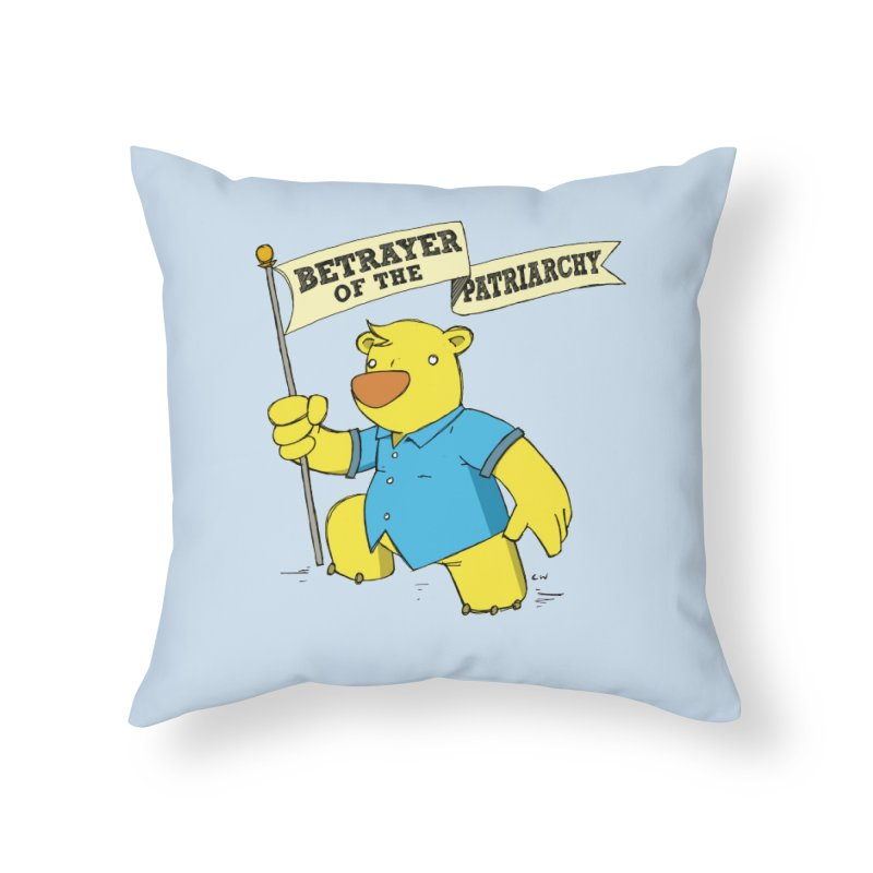 Betrayer of the Patriarchy! Home Throw Pillow by Chris Williams' Artist Shop