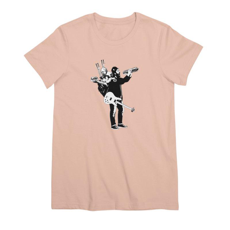 Tall Chris Women's Premium T-Shirt by Chris Williams' Artist Shop