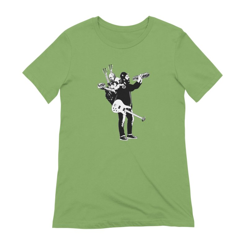 Tall Chris Women's Extra Soft T-Shirt by Chris Williams' Artist Shop