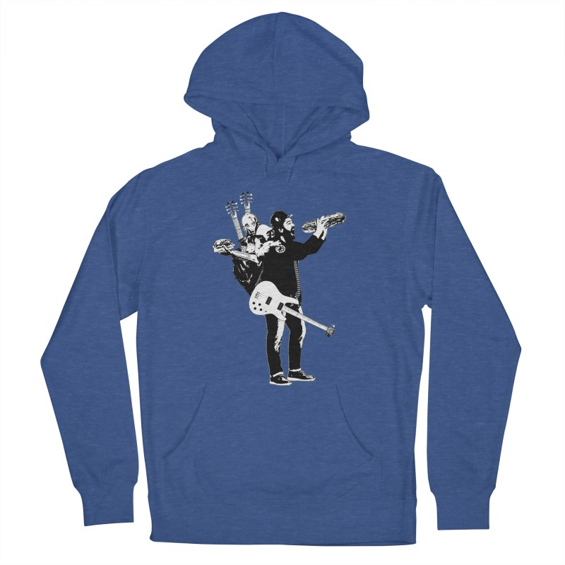 Tall Chris Men's French Terry Pullover Hoody by Chris Williams' Artist Shop