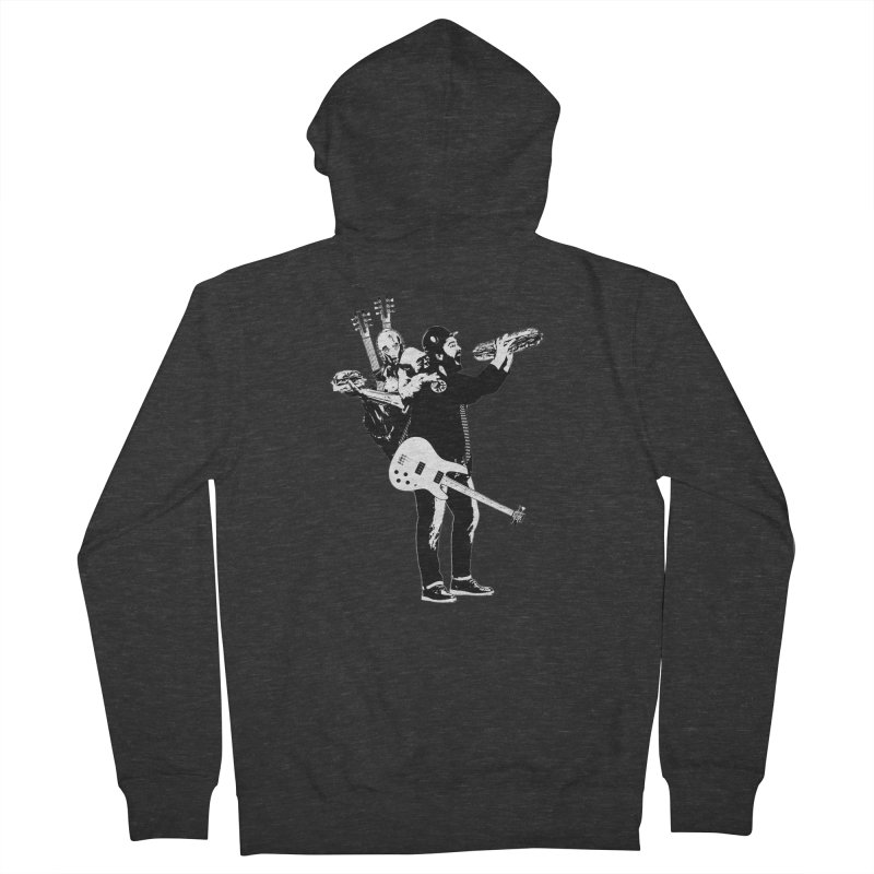 Tall Chris Women's French Terry Zip-Up Hoody by Chris Williams' Artist Shop