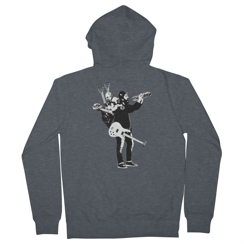 Tall Chris Men's French Terry Zip-Up Hoody by Chris Williams' Artist Shop