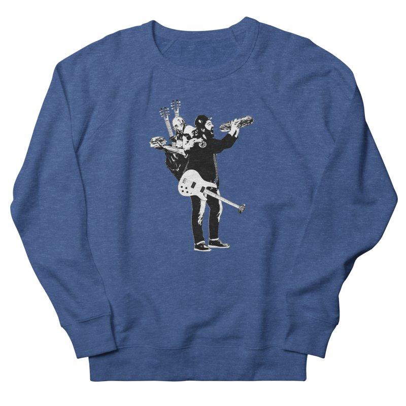 Tall Chris Women's French Terry Sweatshirt by Chris Williams' Artist Shop