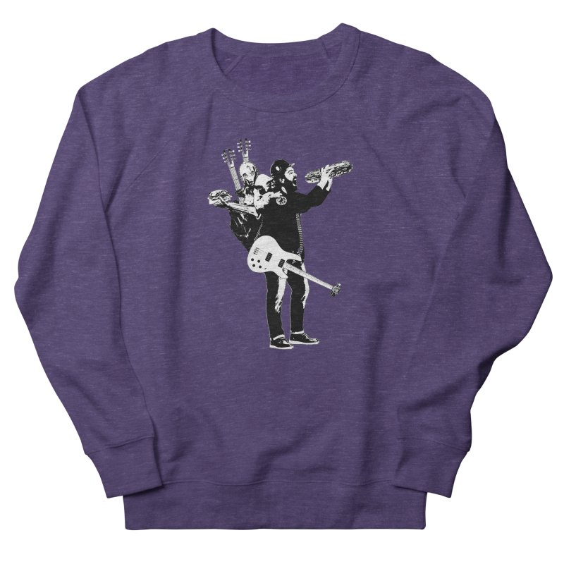 Tall Chris Men's French Terry Sweatshirt by Chris Williams' Artist Shop