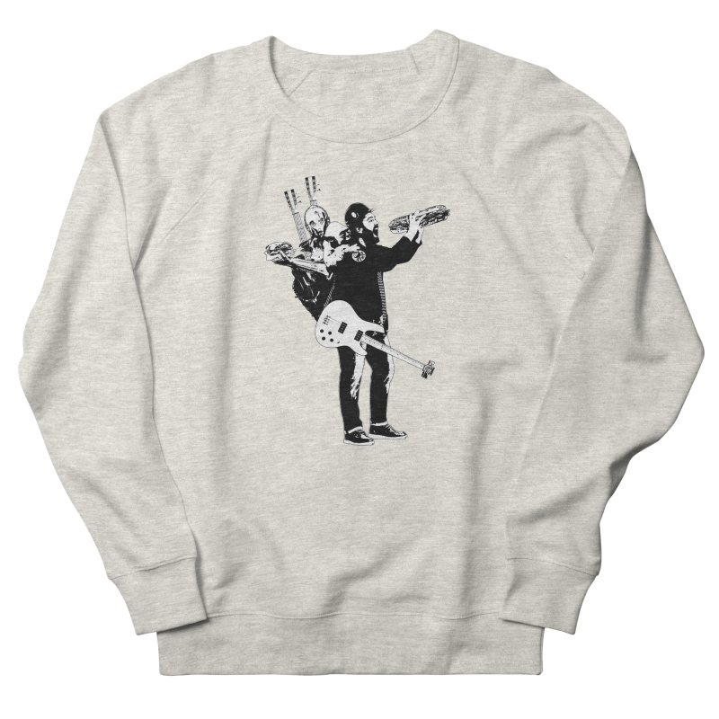 Tall Chris Men's French Terry Sweatshirt by Chris Williams' Artist Shop