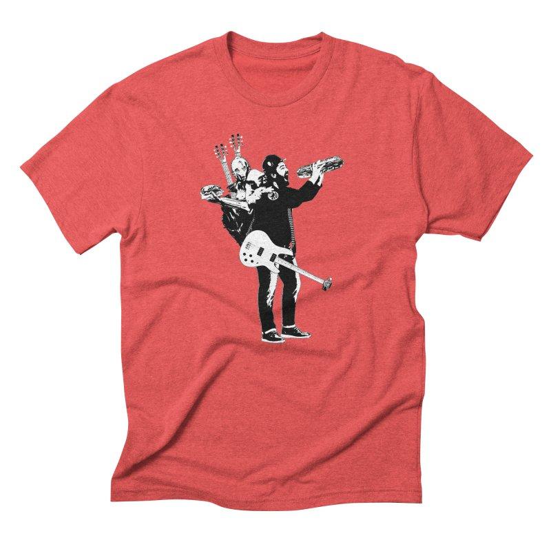 Tall Chris Men's Triblend T-Shirt by Chris Williams' Artist Shop