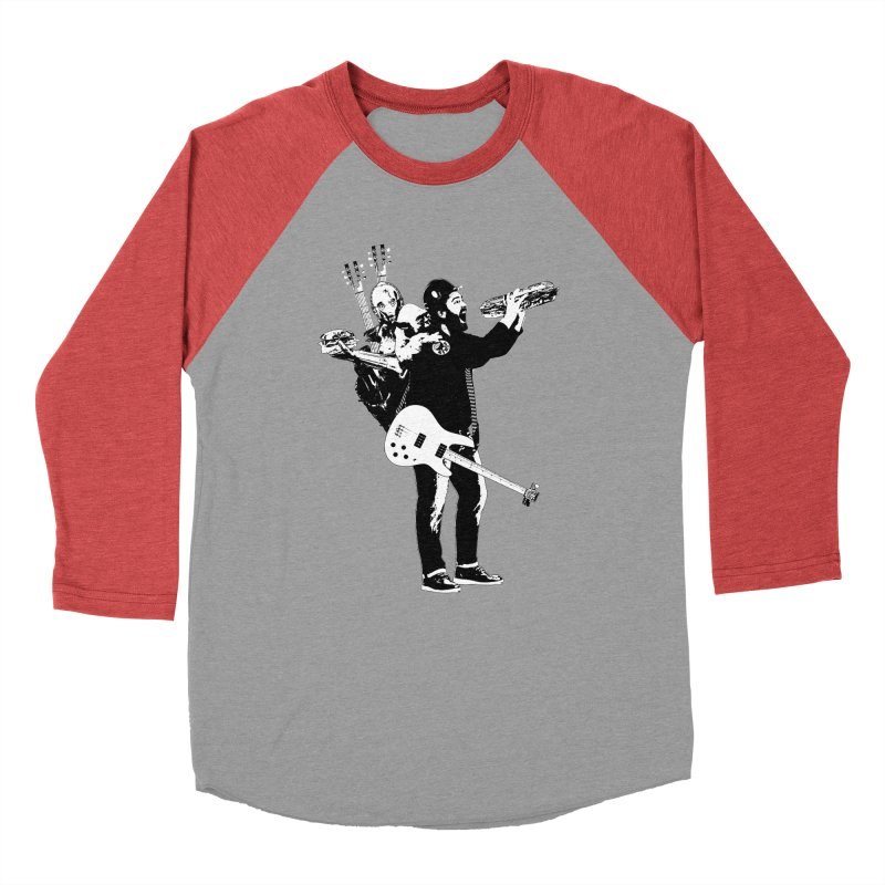 Tall Chris Women's Baseball Triblend Longsleeve T-Shirt by Chris Williams' Artist Shop