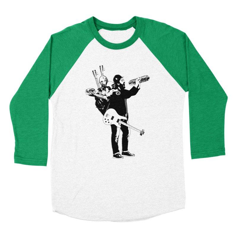 Tall Chris Men's Baseball Triblend Longsleeve T-Shirt by Chris Williams' Artist Shop