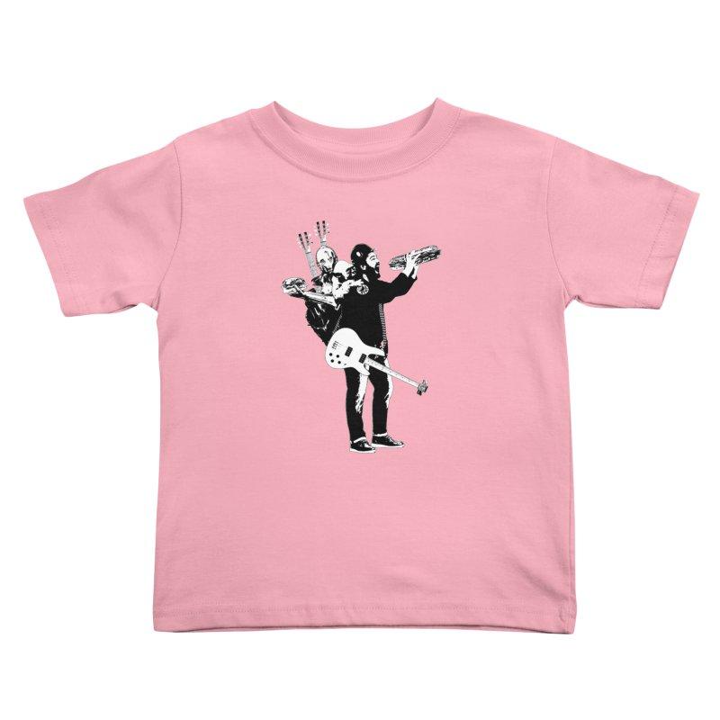 Tall Chris Kids Toddler T-Shirt by Chris Williams' Artist Shop