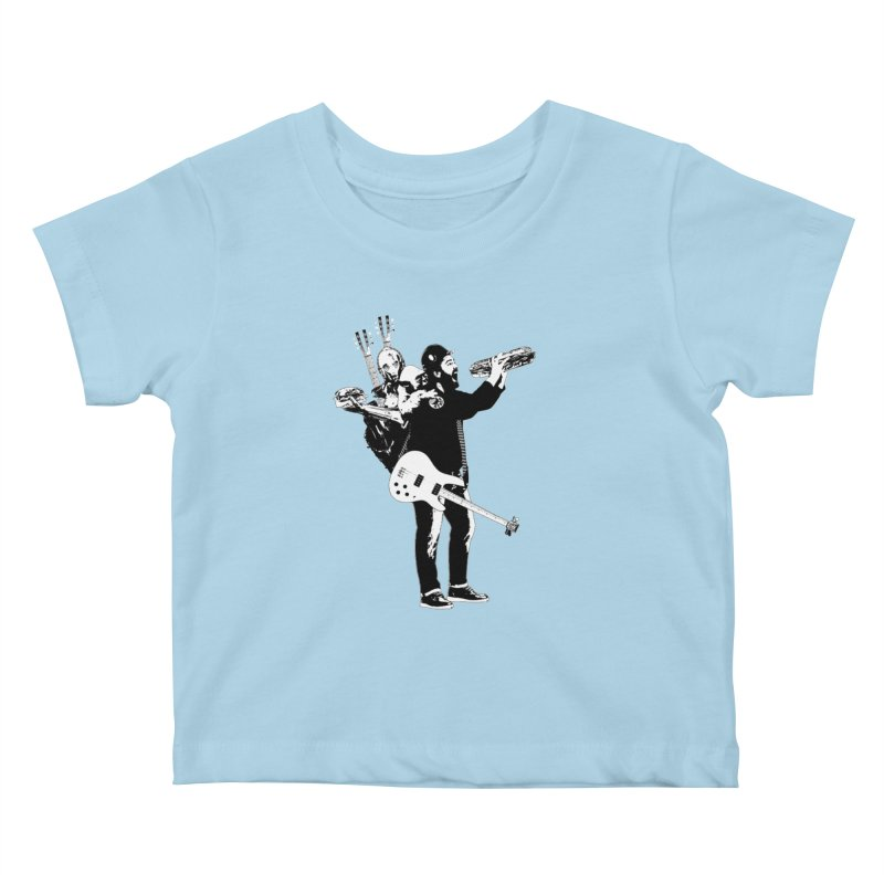 Tall Chris Kids Baby T-Shirt by Chris Williams' Artist Shop
