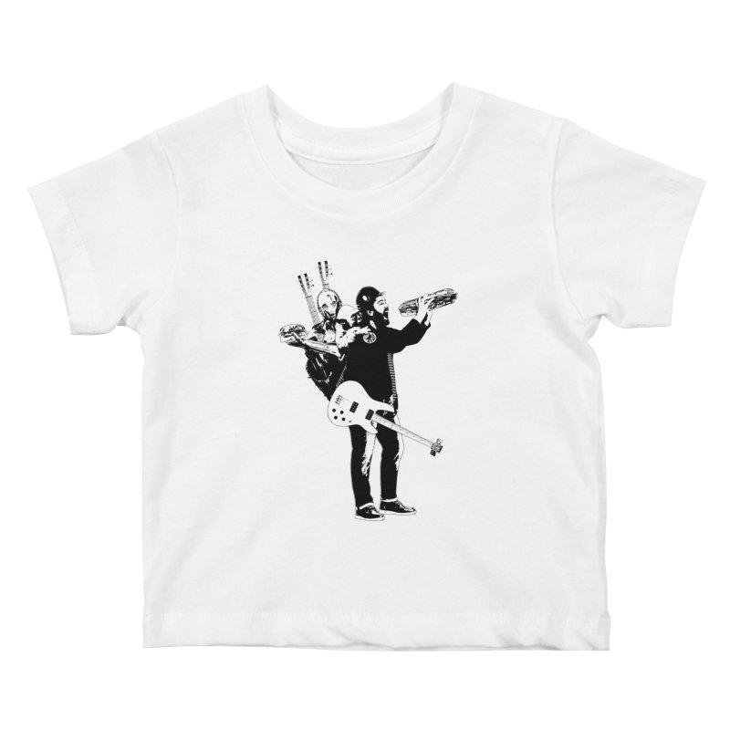 Tall Chris Kids Baby T-Shirt by Chris Williams' Artist Shop