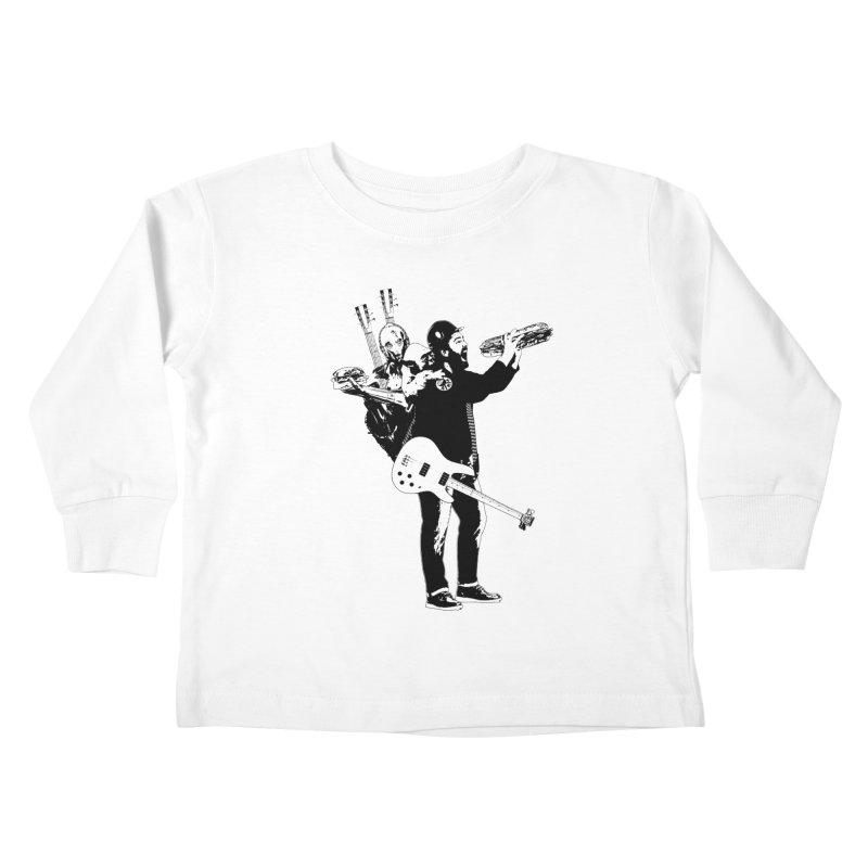 Tall Chris Kids Toddler Longsleeve T-Shirt by Chris Williams' Artist Shop