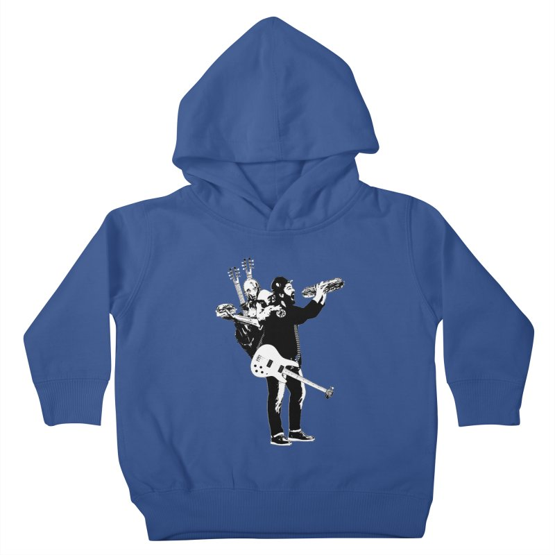 Tall Chris Kids Toddler Pullover Hoody by Chris Williams' Artist Shop
