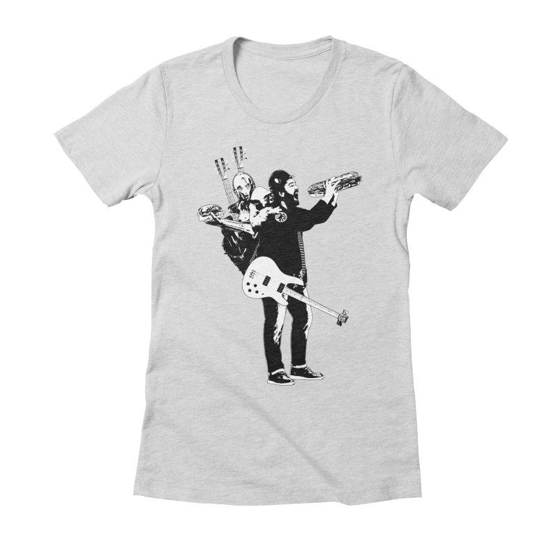 Tall Chris Women's Fitted T-Shirt by Chris Williams' Artist Shop