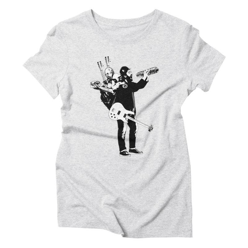 Tall Chris Women's Triblend T-Shirt by Chris Williams' Artist Shop