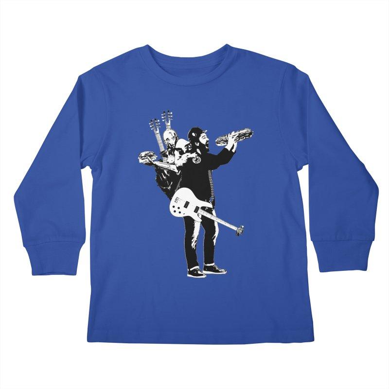 Tall Chris Kids Longsleeve T-Shirt by Chris Williams' Artist Shop