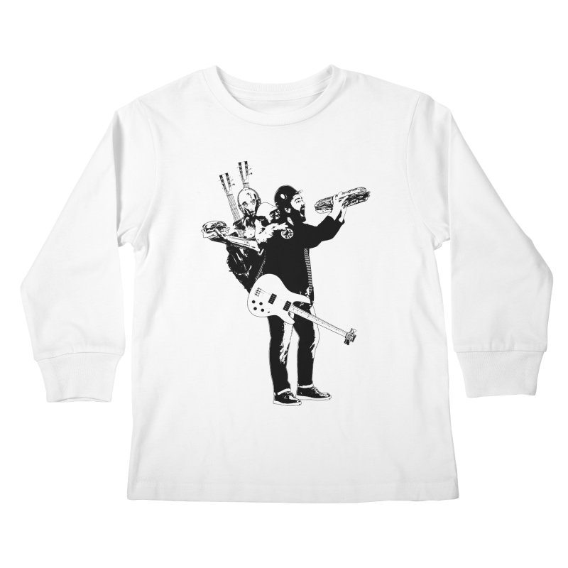 Tall Chris Kids Longsleeve T-Shirt by Chris Williams' Artist Shop