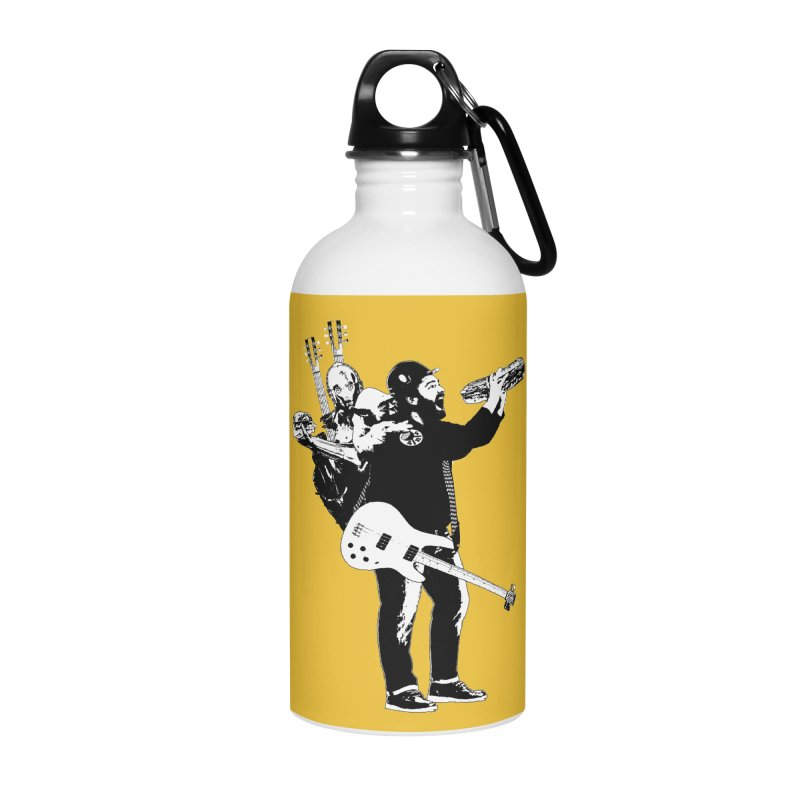 Tall Chris Accessories Water Bottle by Chris Williams' Artist Shop