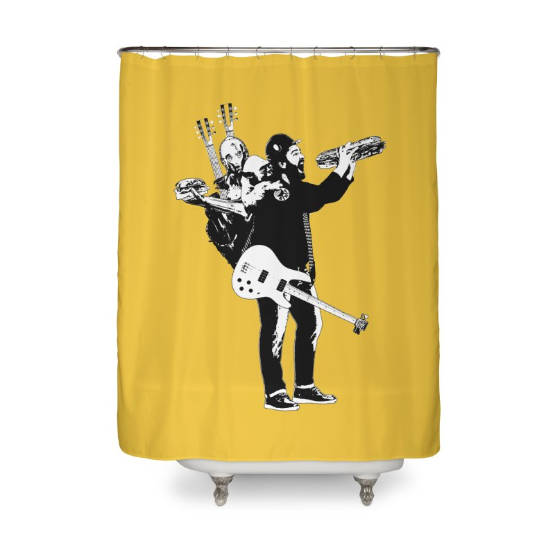 Tall Chris Home Shower Curtain by Chris Williams' Artist Shop