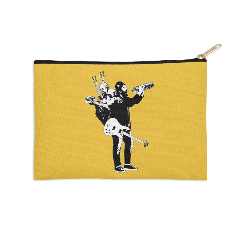 Tall Chris Accessories Zip Pouch by Chris Williams' Artist Shop