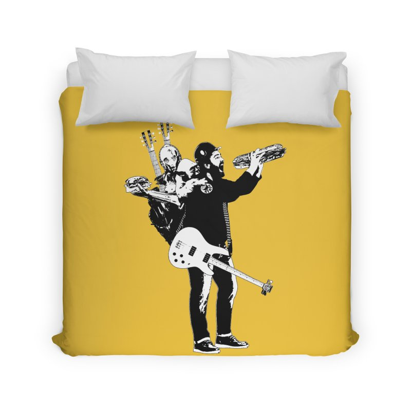Tall Chris Home Duvet by Chris Williams' Artist Shop