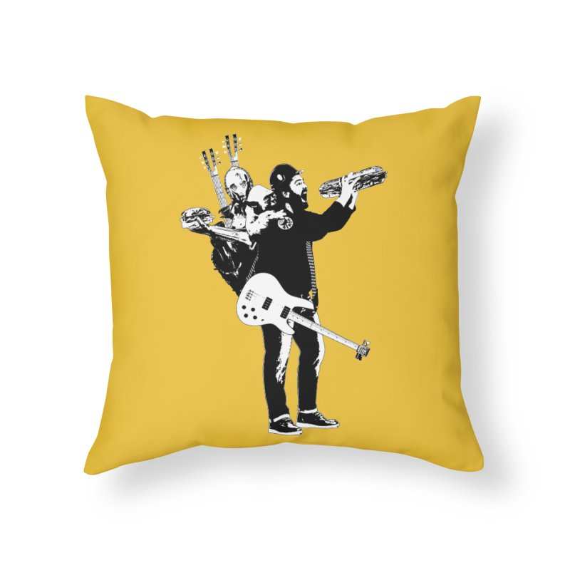 Tall Chris Home Throw Pillow by Chris Williams' Artist Shop
