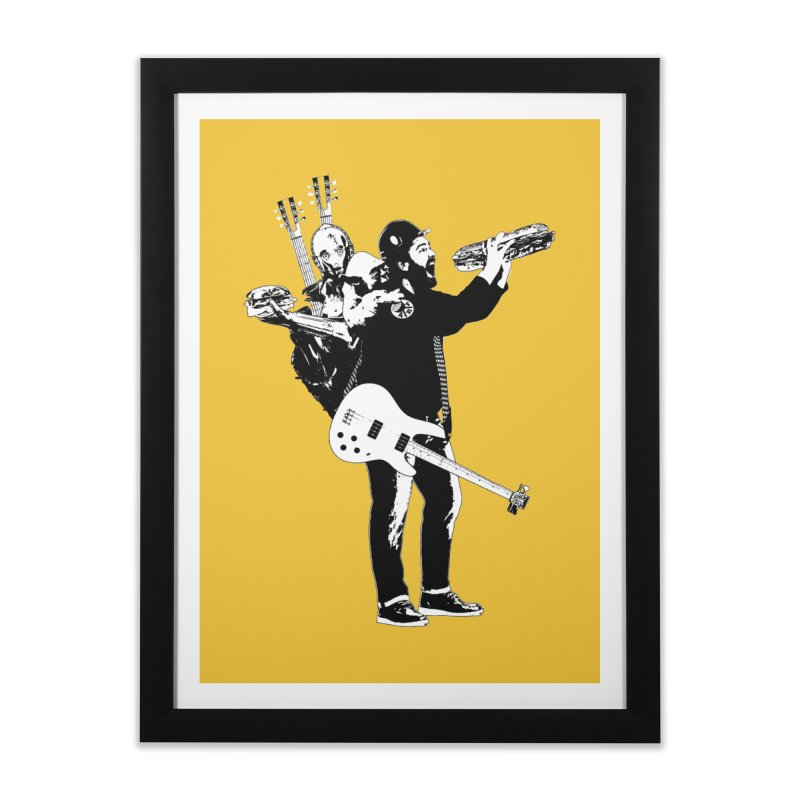 Tall Chris Home Framed Fine Art Print by Chris Williams' Artist Shop