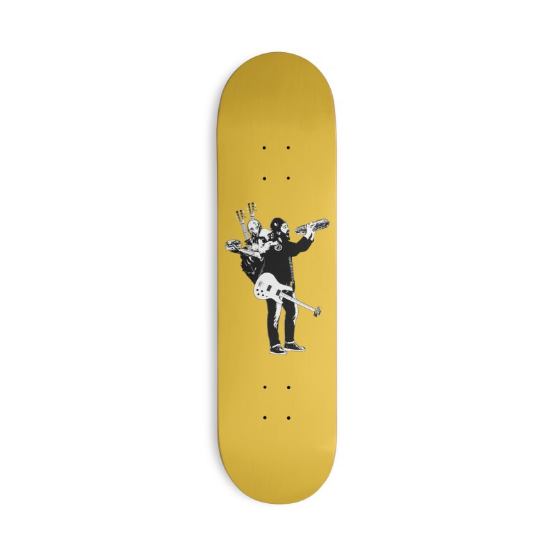 Tall Chris Accessories Deck Only Skateboard by Chris Williams' Artist Shop