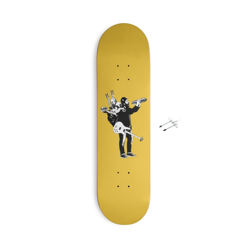 Tall Chris Accessories With Hanging Hardware Skateboard by Chris Williams' Artist Shop