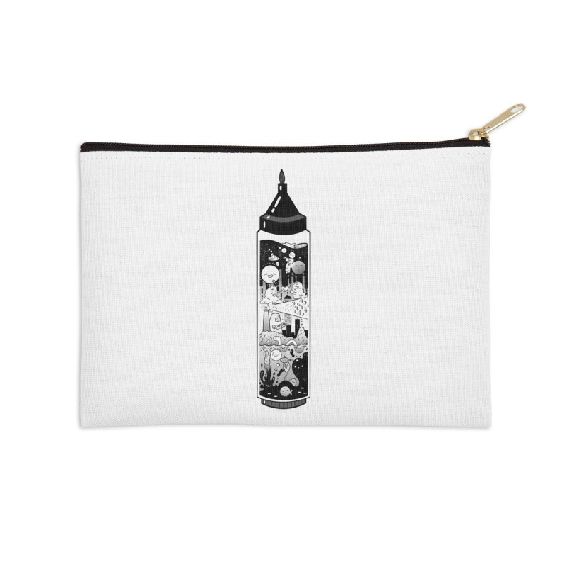 Inkies Accessories Zip Pouch by Chuck Pavoni