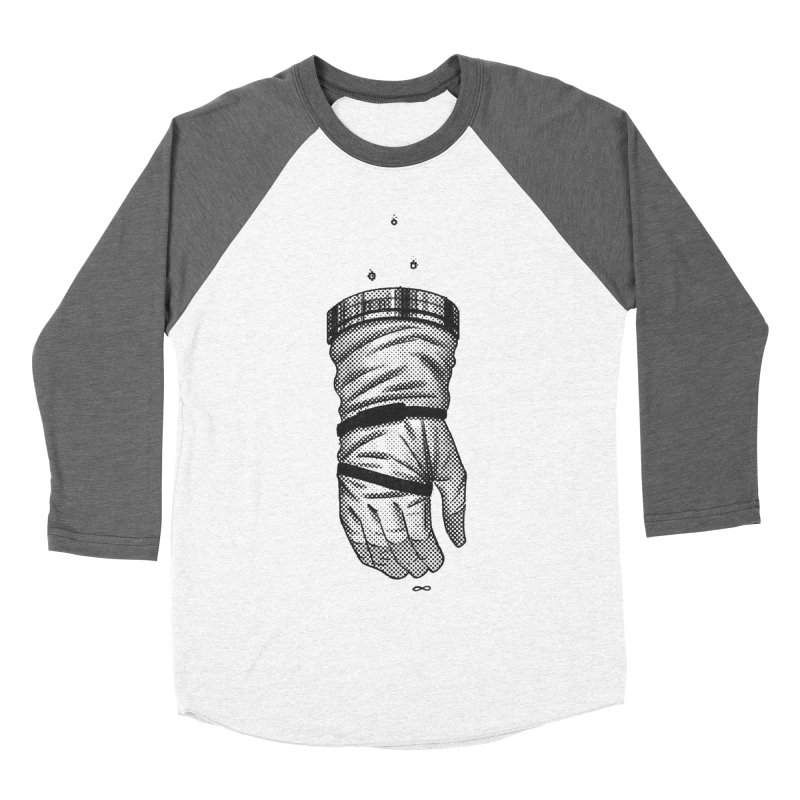 Infinity Glove Women's Baseball Triblend T-Shirt by Chuck Pavoni